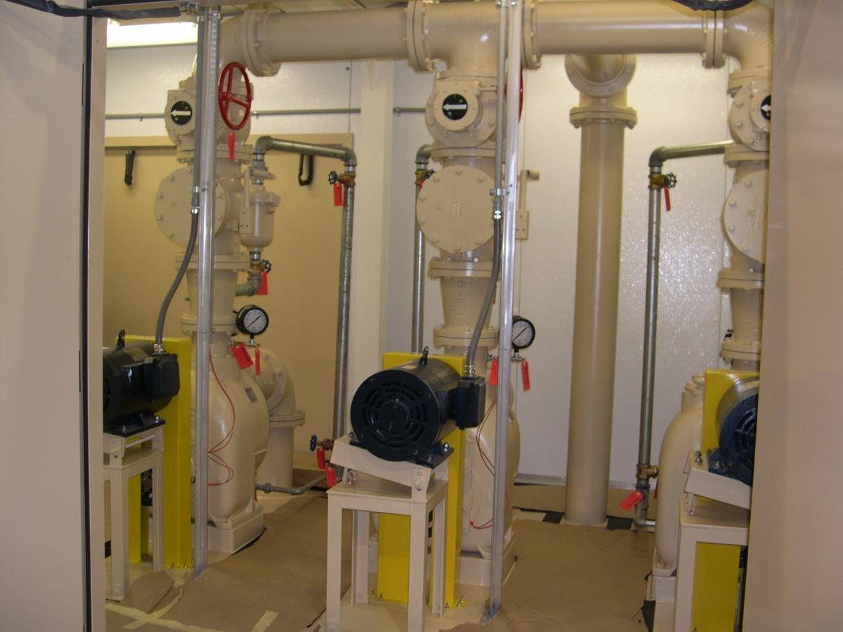 Lift Stations Self Priming Lift Stations
