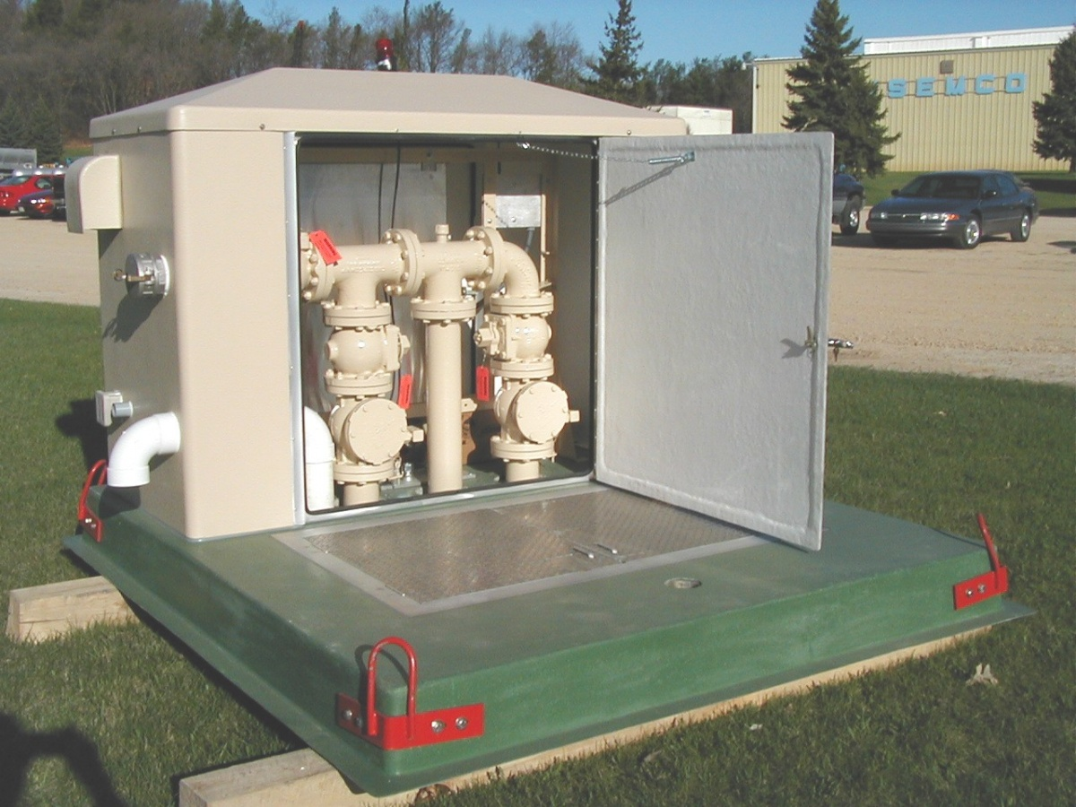 Package Pump Stations And Electrical Control Panels