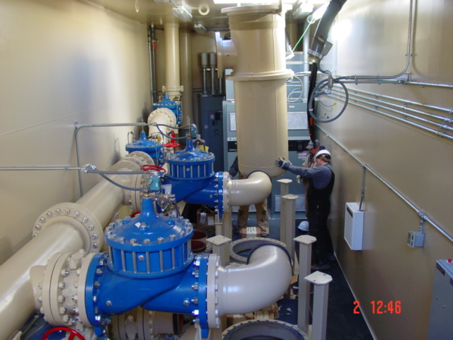 Water Pump Station Water Booster Pump Station