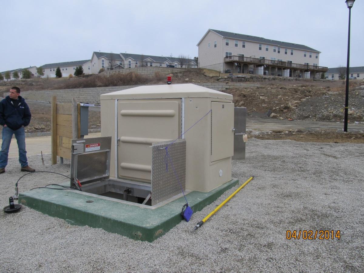 Usemco Sewage Pump Stations Flooded Suction Peanut