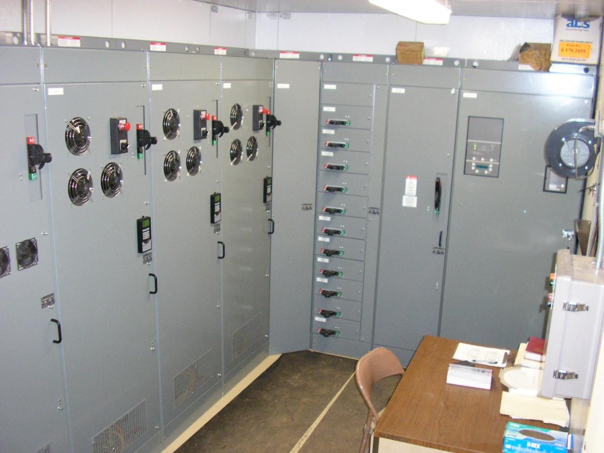Control Panel Building Control Panel Structure